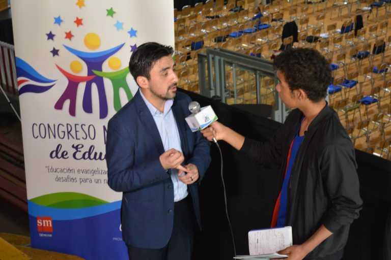 """Al """"Congreso de Educación"""" presenti le scuole mariste"""