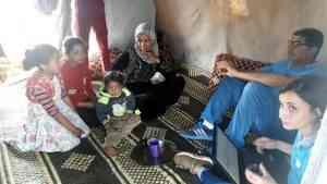 Ghazaleh, 10 anni, se vivesse in un altro paese farebbe la quinta elementare