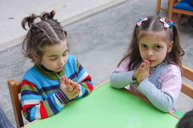 Papa Francesco e il Natale dei bambini siriani
