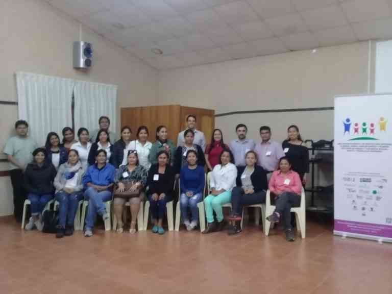 FMSI and the Bolivian Marists prepare the report for the UN