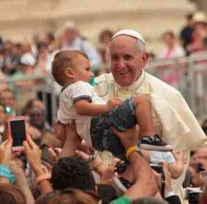 Pope Francis calls for the fight against child abuse