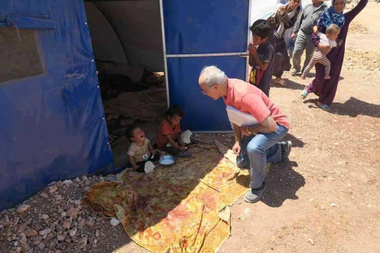 Nabil y los Maristes Azules en Siria